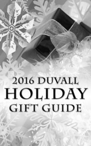 Check out the 2016 Duvall Holiday Gift Guide!!!!