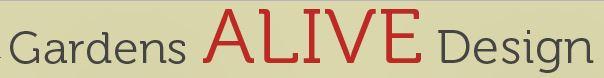 Garden's ALIVE Design Logo
