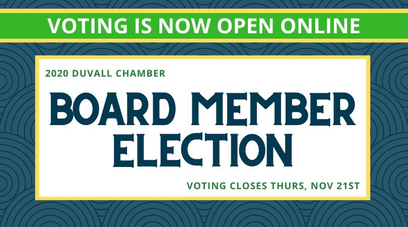 2020 Board Member Election Open Now
