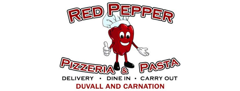 Red Pepper Pizzeria logo