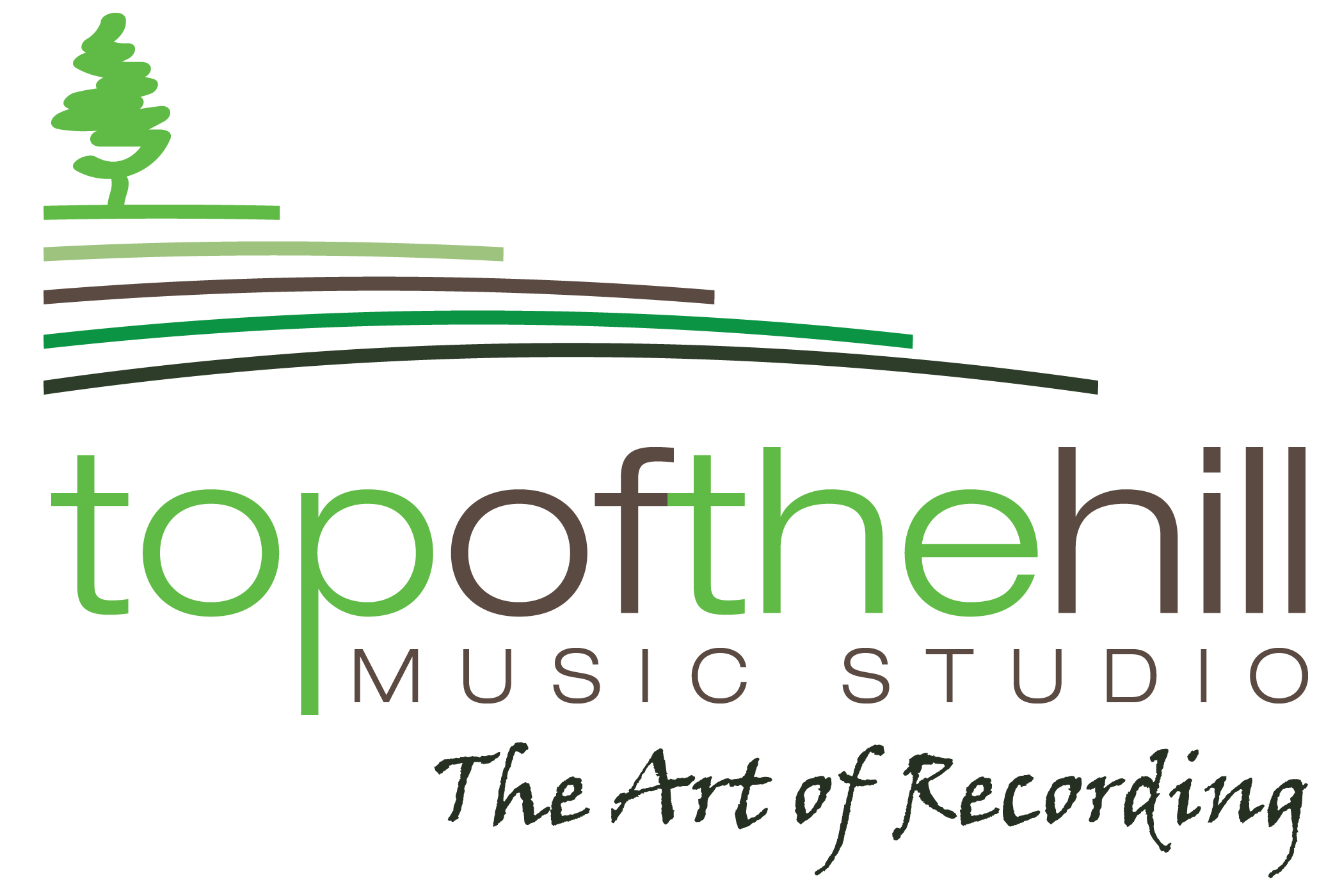 Top of the Hill Music Logo